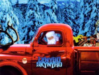La copertina dell'album di Natale dei Lynyrd Skynyrd: Christmas Time Again