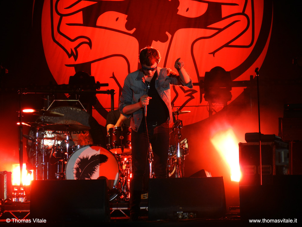 I Kasabian a Rock In Roma 2012