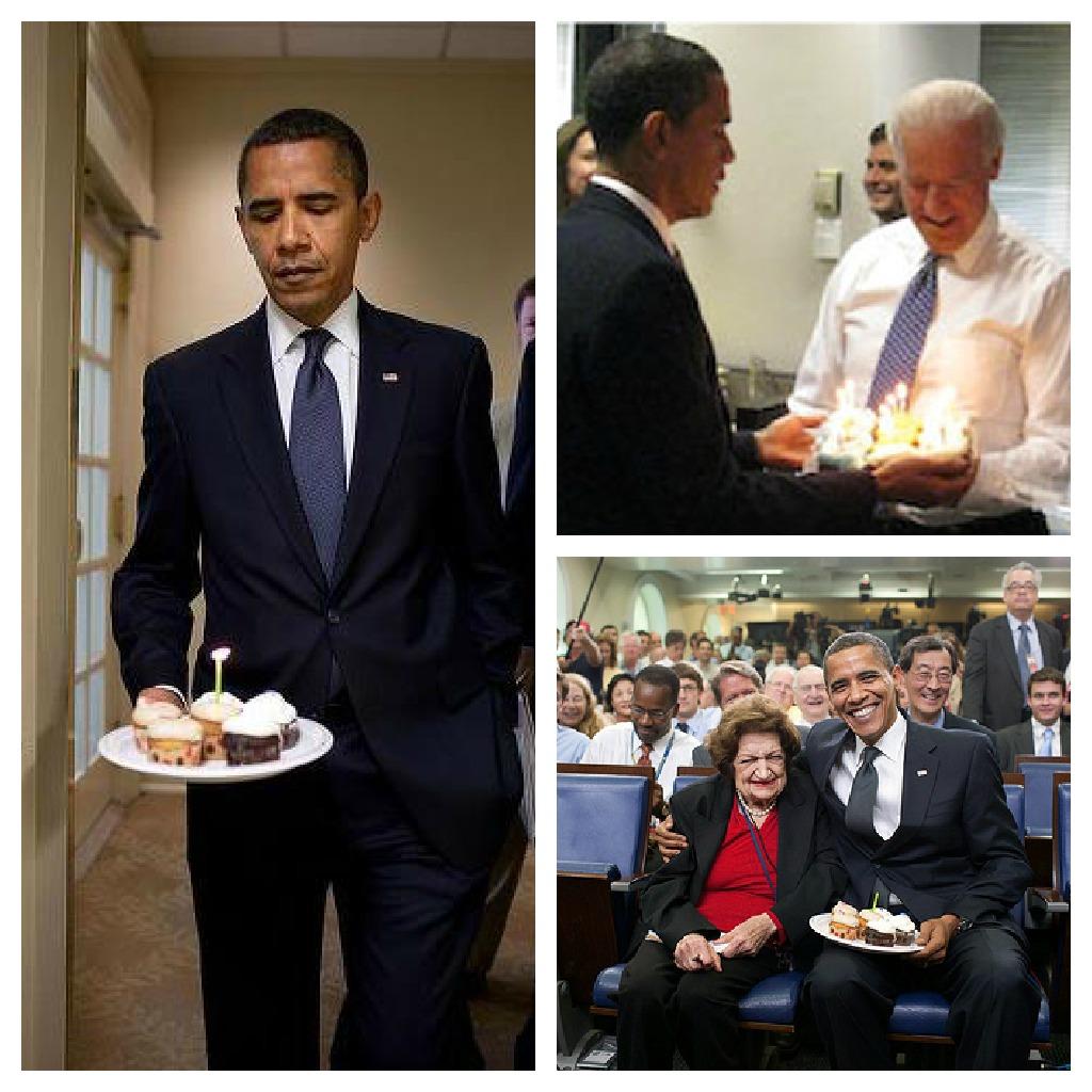 Barack Obama loves CupCakes