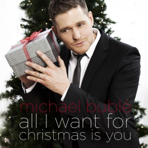 "Michael Bublé interpreta il brano All I Want For Christmas is You nell'album ""cHRISTMAS"""