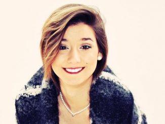 La giovane cantante Valery, talento marsicano
