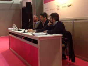 Luca Rolandi nell'incontro sul giornalismo digitale - SalTo13