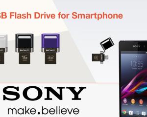 Arrivano le nuove chiavette USB per smartphone e tablet da Sony