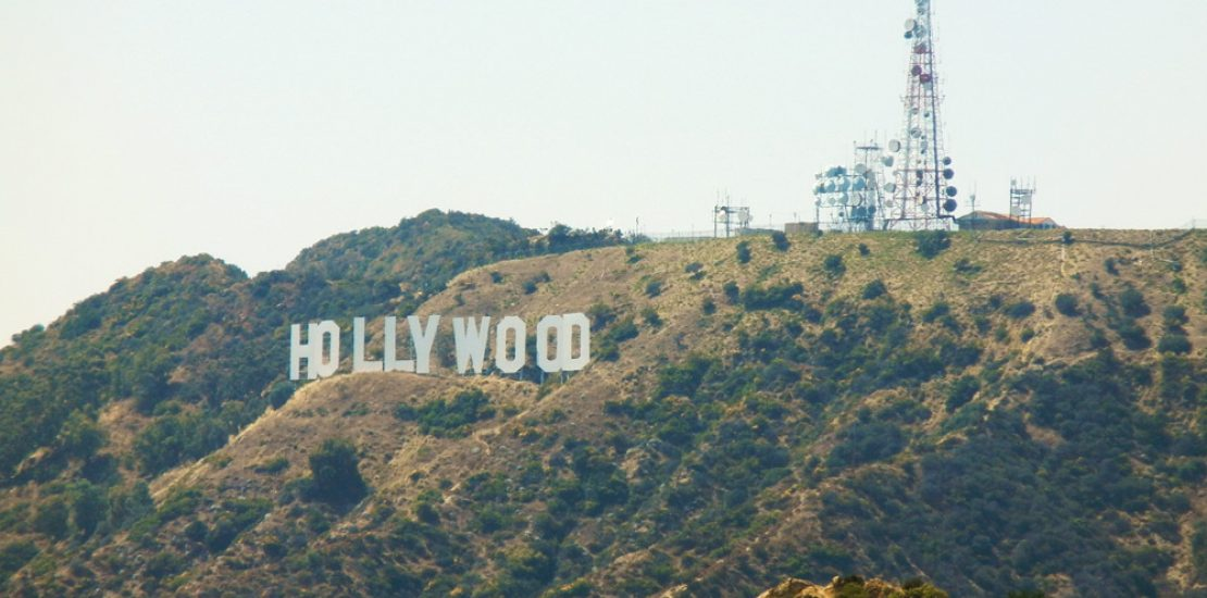 L'insegna Hollywood catturata dal Griffith Observatory, California