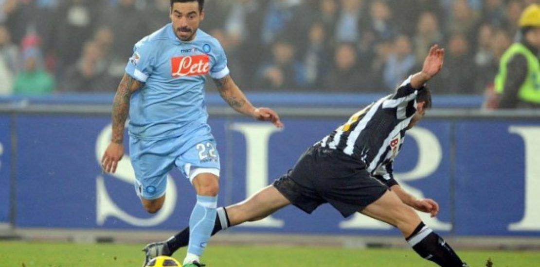 Partita di calcio: Juventus contro Napoli